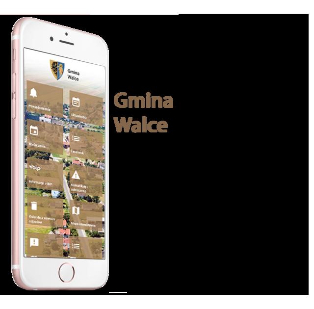 Aplikacja mobilna - Wielozadaniowa, darmowa aplikacja mobilna dla mieszkańców Gminy Walce