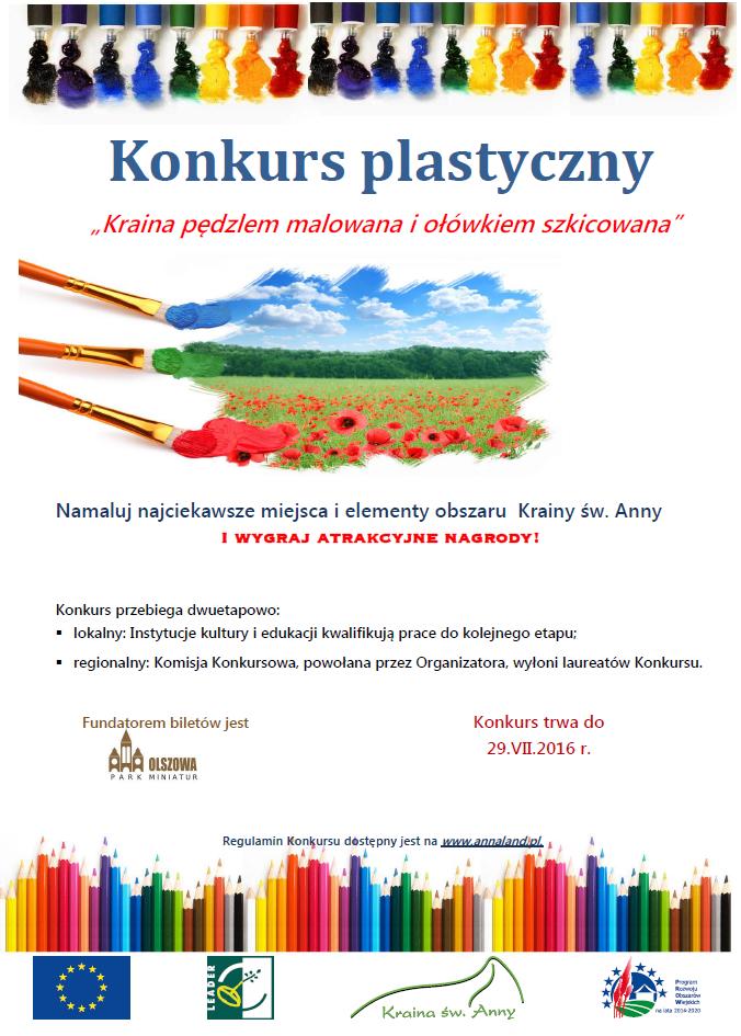 plakat - Kraina pędzlem malowana i ołówkiem.png