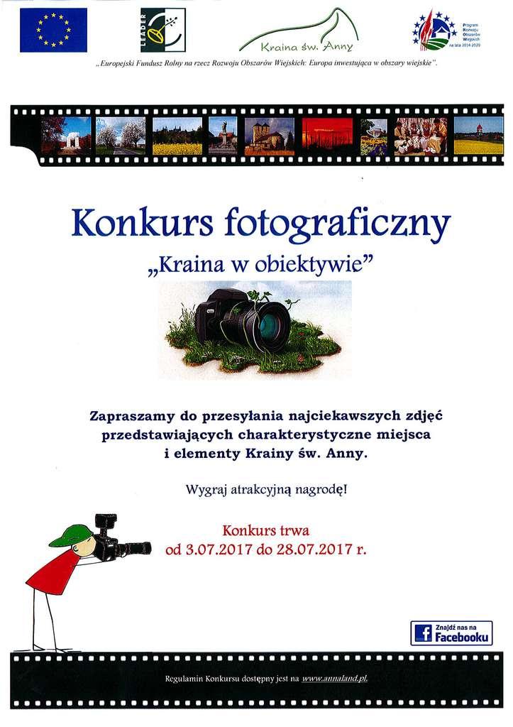 plakat - Konkurs fotograficzny - Kraina w obiektywie.jpeg