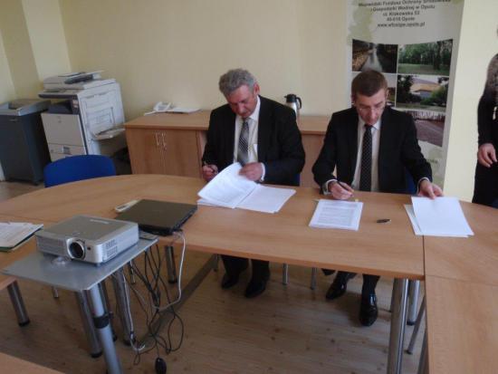 Galeria Podpisanie aneksu do umowy Rozkochów
