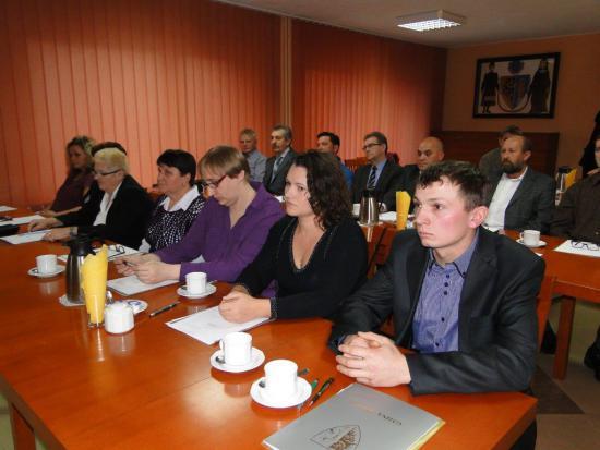 Galeria Inauguracyjna Sesja II kadencji Rady Gminy Walce