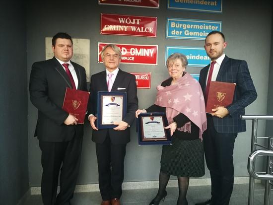 Galeria Honorowy Obywatel Gminy Walce - luty 2020