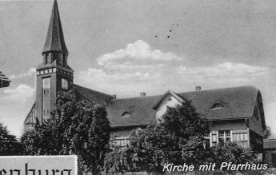 Kościół w Straduni ok 1940