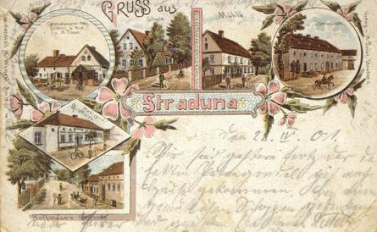 Stradunia - 1915 r. - widokówka